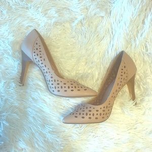 NWOT Nude Restricted Heels